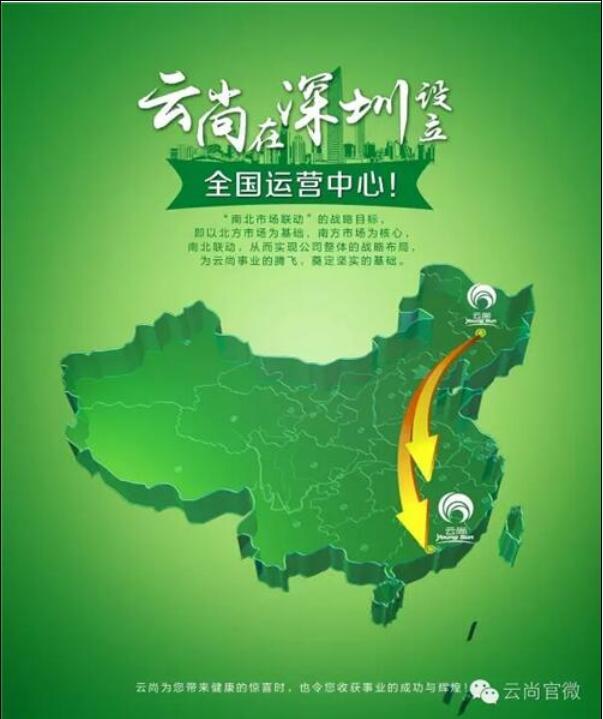 云尚南北市场联动  蓄势开拓直销市场