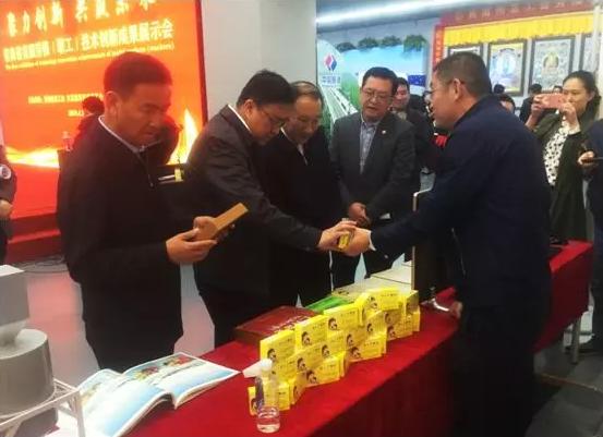 金诃藏药参加首届劳模技术创新成果展