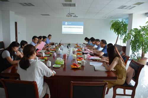 中国科学院上海药物研究所果德安研究员莅临明仁福瑞达指导工作